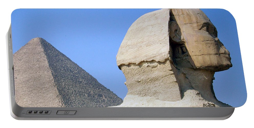 Egypt Portable Battery Charger featuring the photograph Egypt - Pyramids Abu Alhaul by Munir Alawi