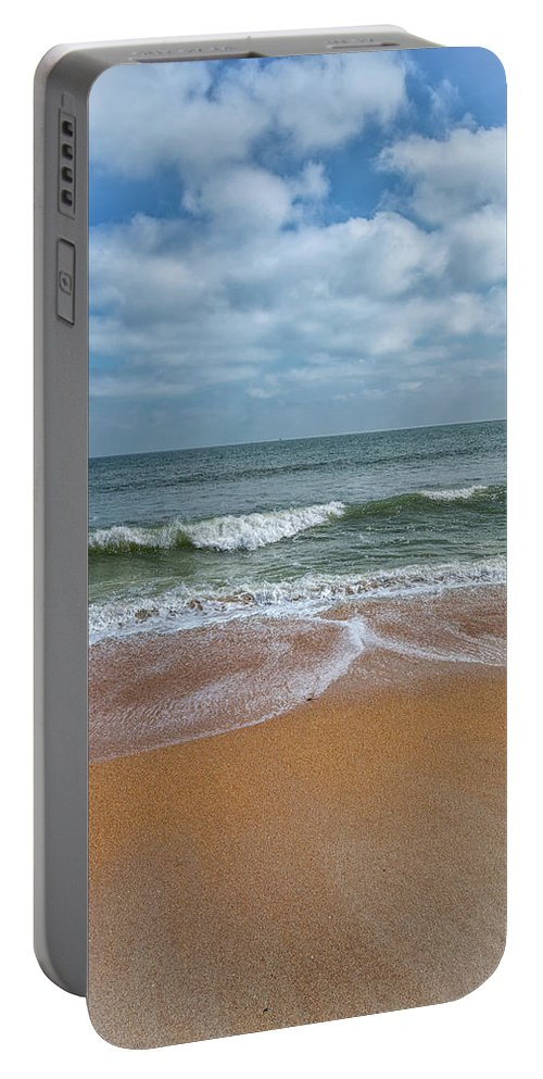 Beach Portable Battery Charger featuring the photograph Elemental by John M Bailey