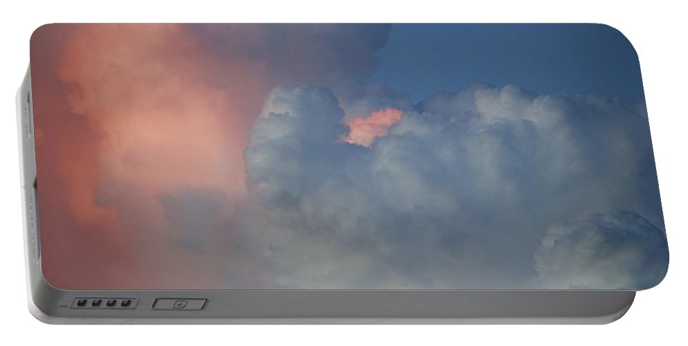 Clouds Portable Battery Charger featuring the photograph Elephant In The Sky by Rob Hans