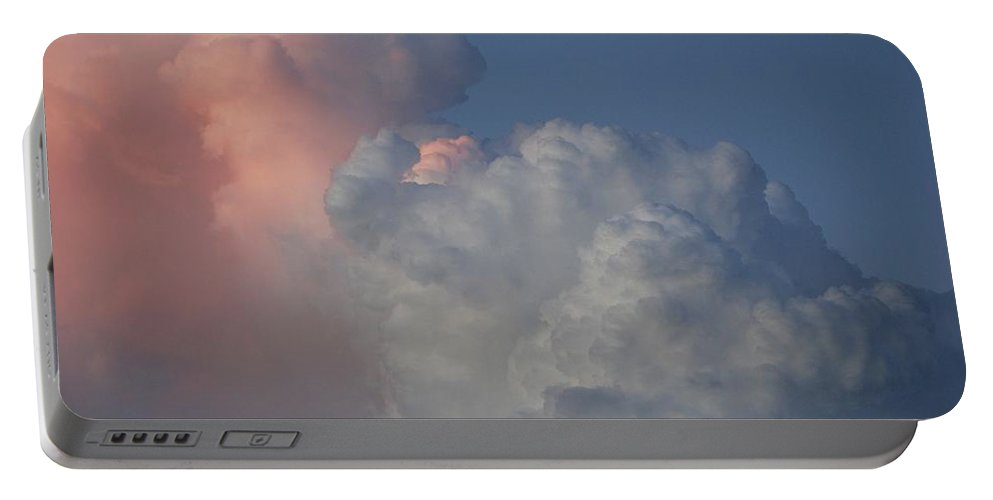 Clouds Portable Battery Charger featuring the photograph Elephant Sky by Rob Hans