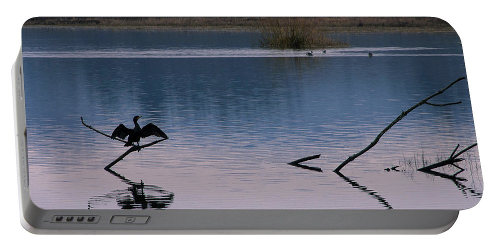 Landscapes Portable Battery Charger featuring the photograph Embrace The Evening by Steven Clark