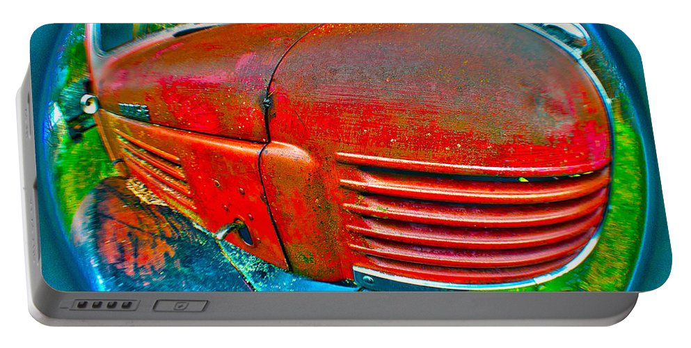 Art Portable Battery Charger featuring the photograph Emotional Mopar by Clayton Bruster