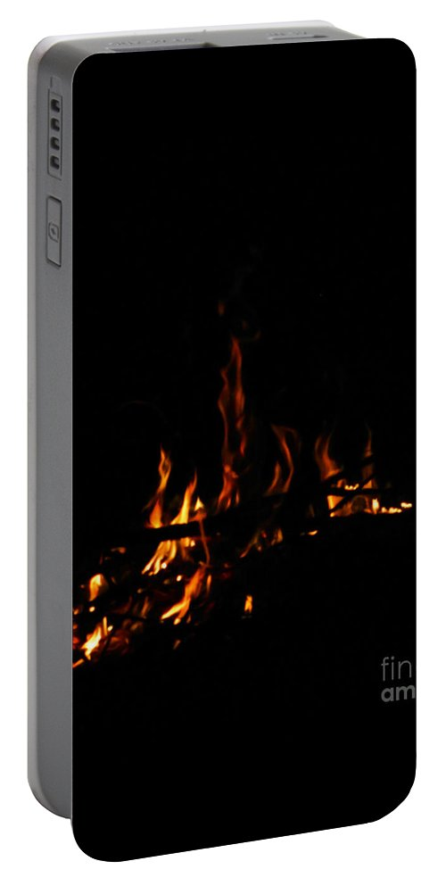 Fire Portable Battery Charger featuring the photograph Ena by September Stone