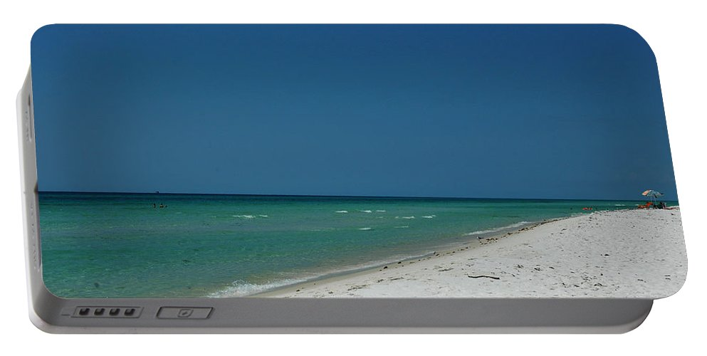 Photography Portable Battery Charger featuring the photograph Endless Horizon by Susanne Van Hulst