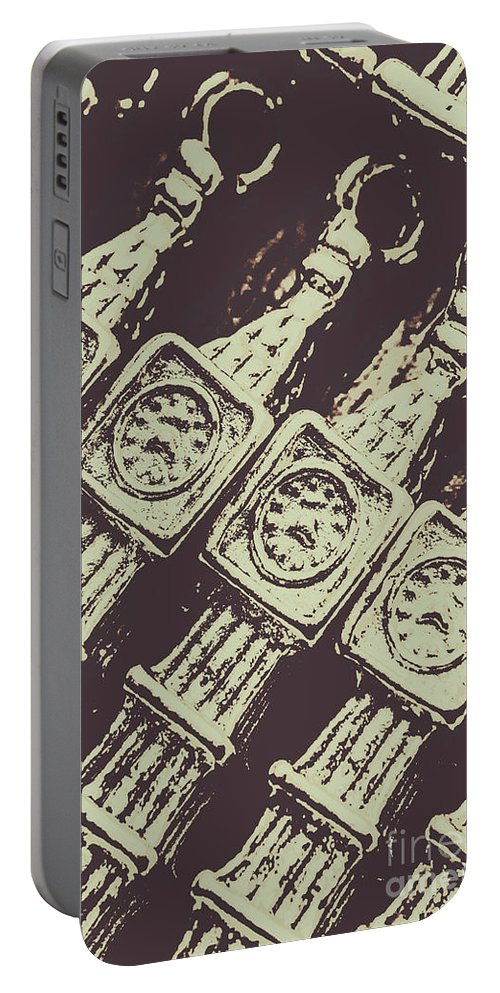 Big Ben Portable Battery Charger featuring the photograph England Tourism Past by Jorgo Photography - Wall Art Gallery