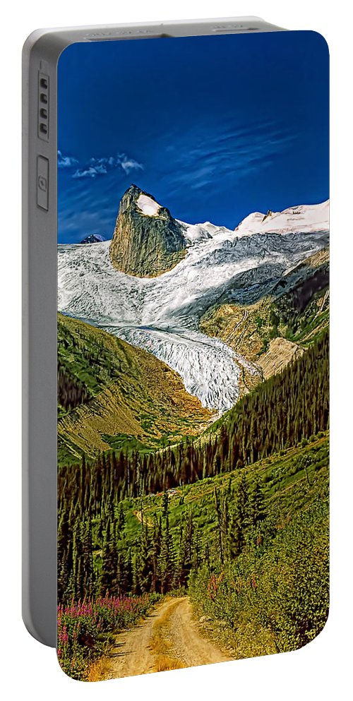 Mountains Portable Battery Charger featuring the photograph Entering The Bugaboos by Steve Harrington