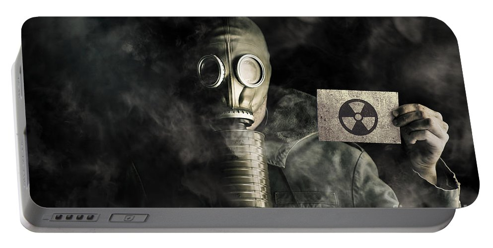 Air Portable Battery Charger featuring the photograph Nuclear Threat by Jorgo Photography - Wall Art Gallery
