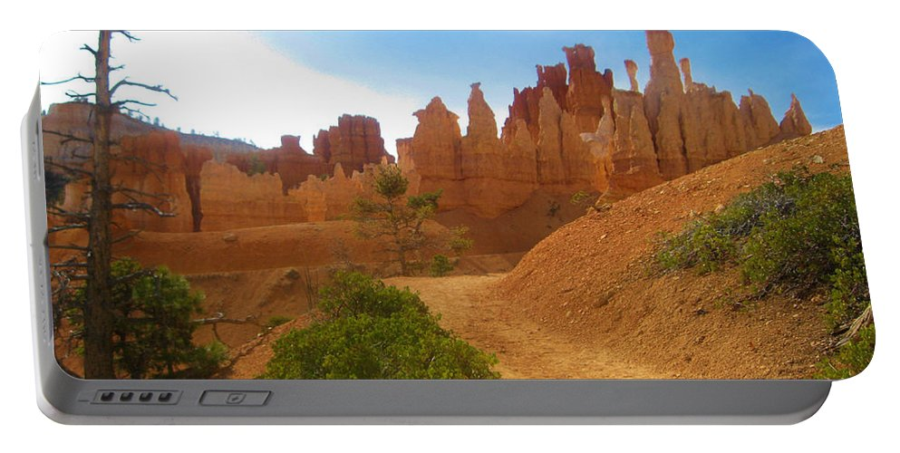 Canyon Portable Battery Charger featuring the photograph Epic Bryce Canyon by Eric Fellegy