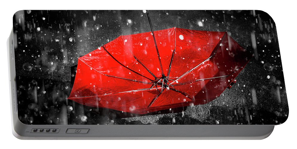 Red Portable Battery Charger featuring the photograph Epiphany by Jorgo Photography - Wall Art Gallery