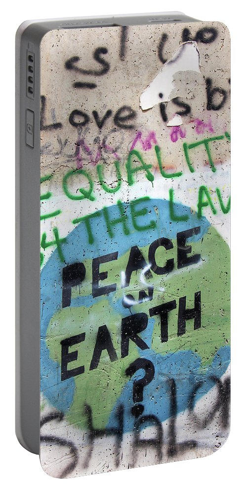 Law Portable Battery Charger featuring the photograph Equality Before The Law by Munir Alawi