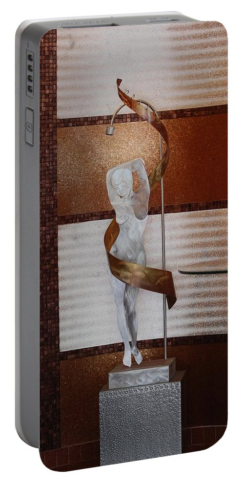 Statue Portable Battery Charger featuring the photograph Erotic Museum Piece by Rob Hans
