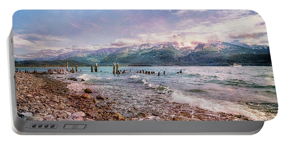 Seward Seashore Portable Battery Charger featuring the photograph Eternal Longings by Belinda Greb