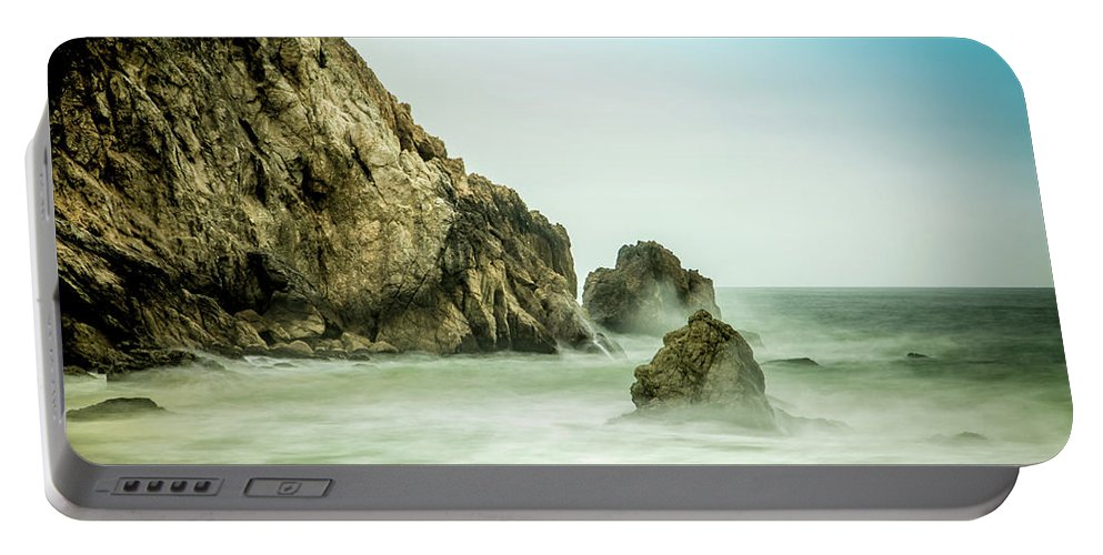 Sky Portable Battery Charger featuring the photograph Ethereal Beach 2 by Tony Noto