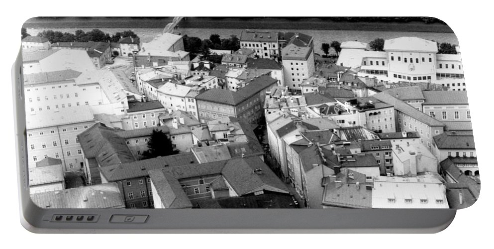 Rofftops Portable Battery Charger featuring the photograph European Rooftops by Michelle Calkins