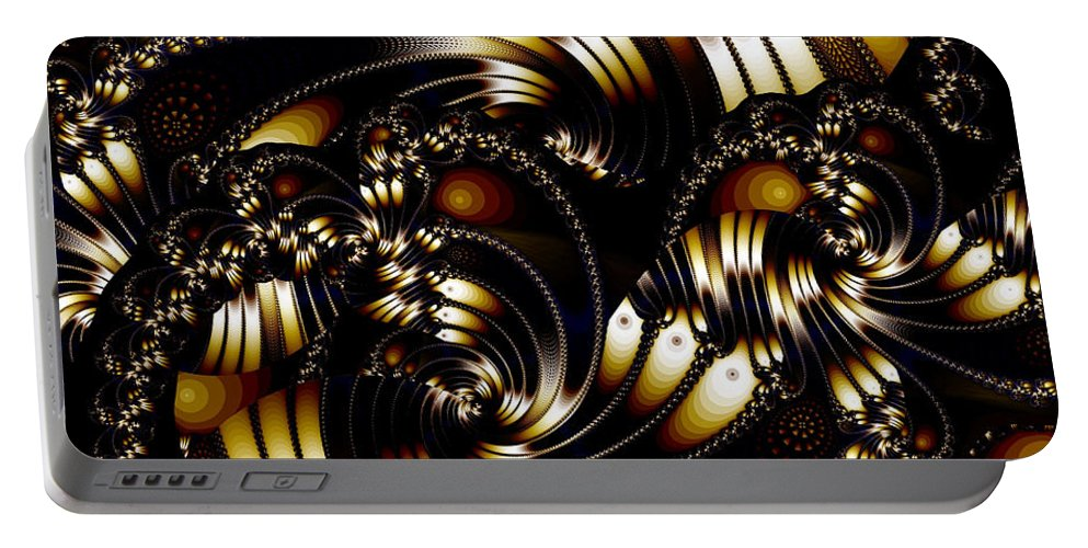 Elegance Portable Battery Charger featuring the digital art Evening Elegance by Ron Bissett
