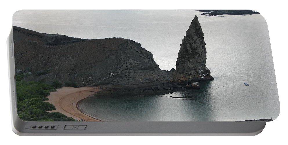Beach Portable Battery Charger featuring the photograph Evening In Paradise by Sandra Bourret