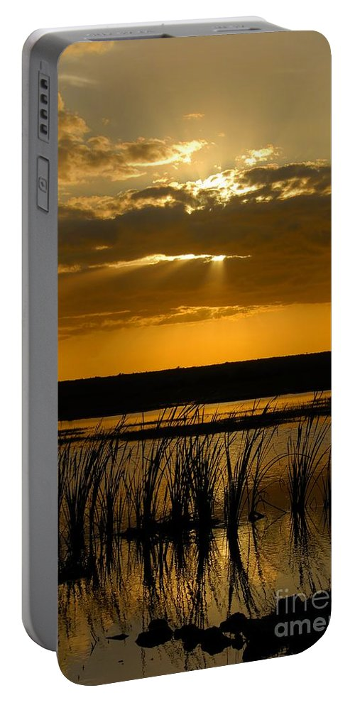 Everglades National Park Florida Portable Battery Charger featuring the photograph Everglades Evening by David Lee Thompson