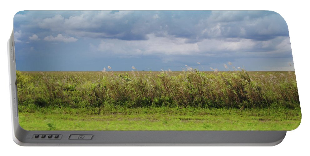 Everglades Portable Battery Charger featuring the photograph Everglades by Jost Houk