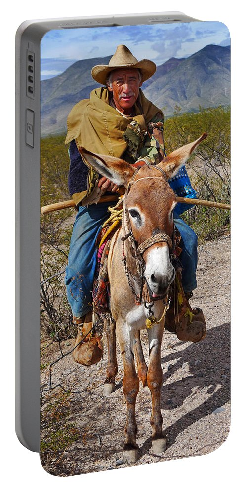 Skip Hunt Portable Battery Charger featuring the photograph Evuli by Skip Hunt