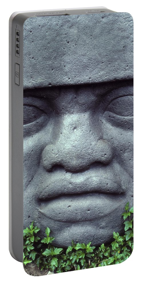 Bali Portable Battery Charger featuring the photograph Face On Bali by Jerry McElroy