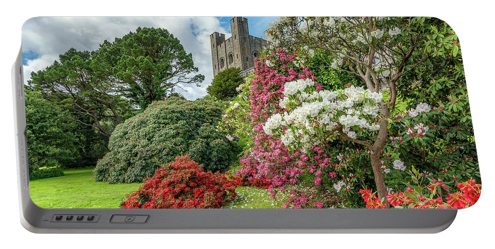 Castle Portable Battery Charger featuring the photograph Fairy Tale Castle by Adrian Evans