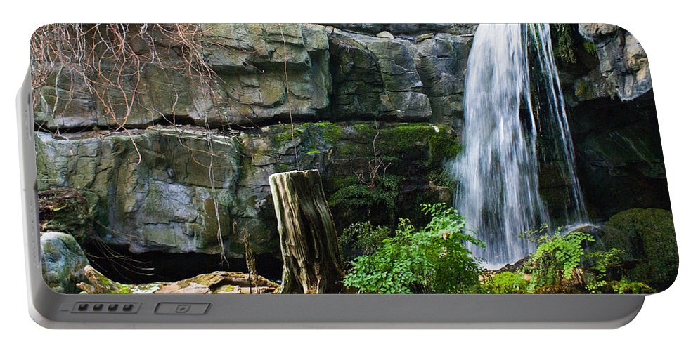 Waterfall Portable Battery Charger featuring the photograph Fairy Waterfall by Douglas Barnett