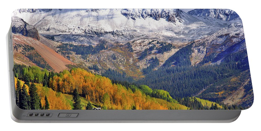 Fall Portable Battery Charger featuring the photograph Fall Beauty by Scott Mahon
