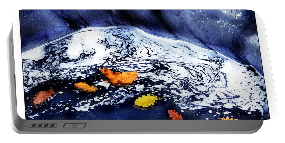 Fall Portable Battery Charger featuring the photograph Fall Flotilla by Mal Bray