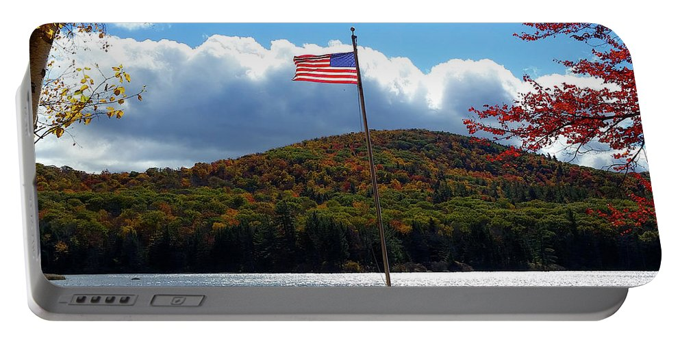 Heath Portable Battery Charger featuring the photograph Fall In Heath by Mike Roff
