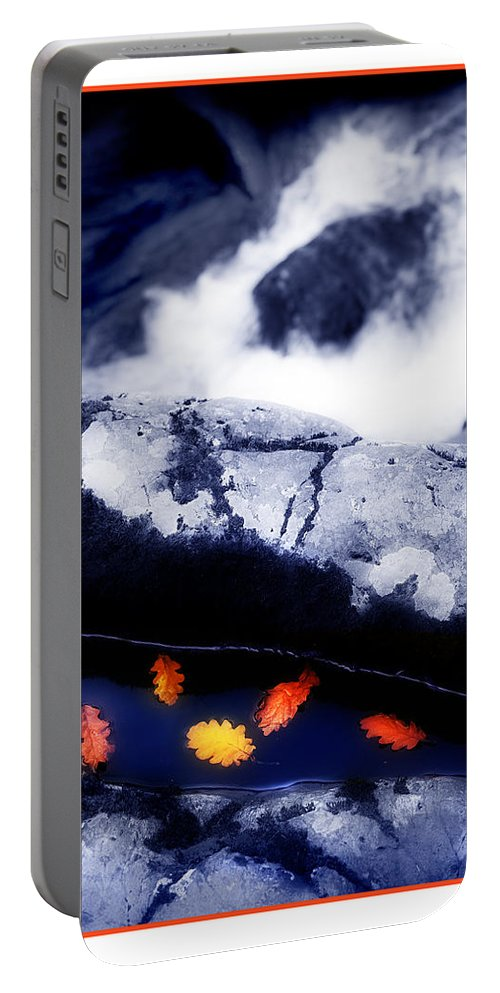 Water Portable Battery Charger featuring the photograph Fall Quintet by Mal Bray