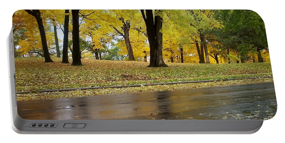 Fall Portable Battery Charger featuring the photograph Fall Series 15 by Anita Burgermeister