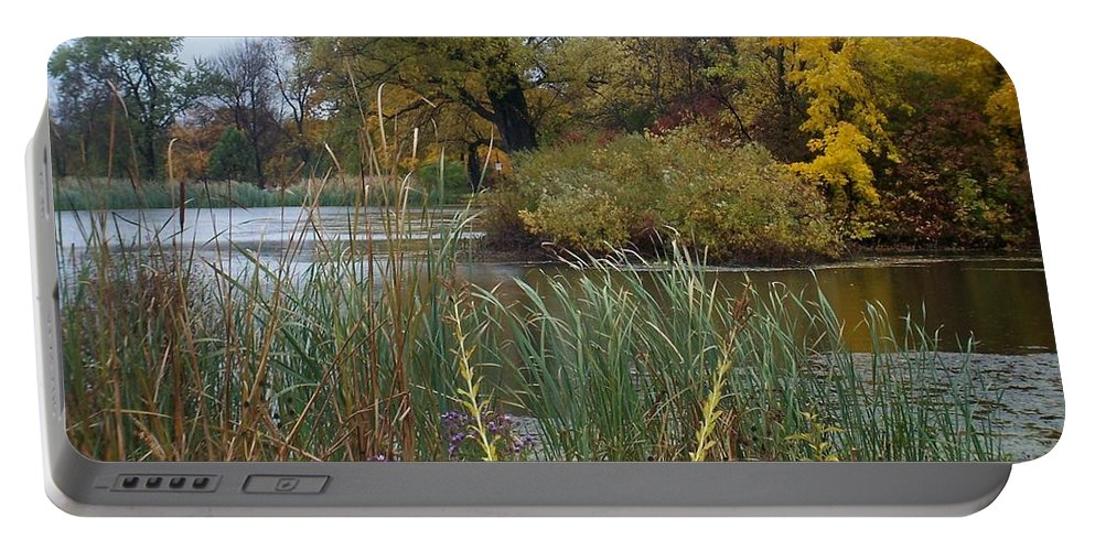 Fall Portable Battery Charger featuring the photograph Fall Series 7 by Anita Burgermeister