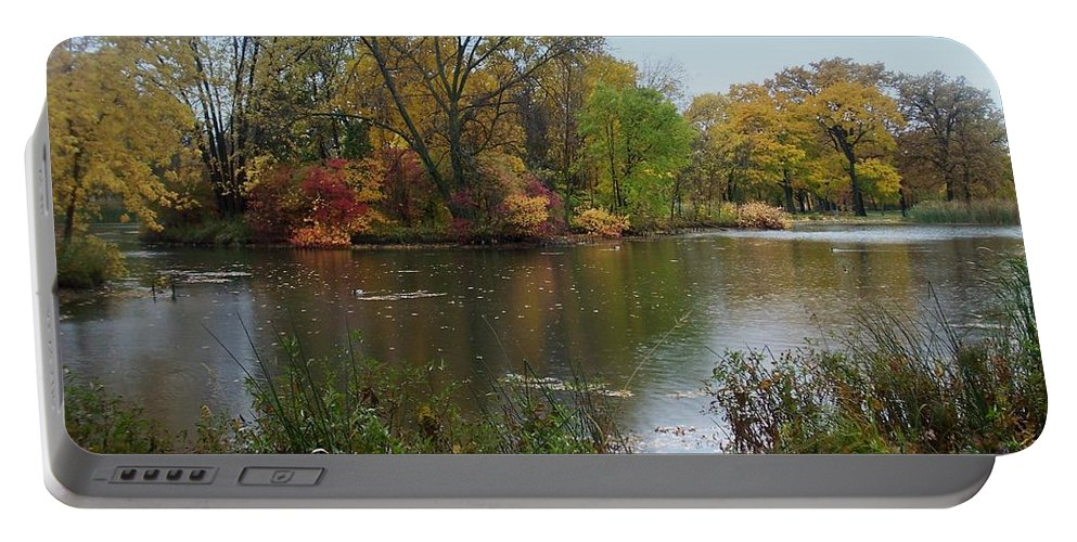 Fall Portable Battery Charger featuring the photograph Fall Series 8 by Anita Burgermeister