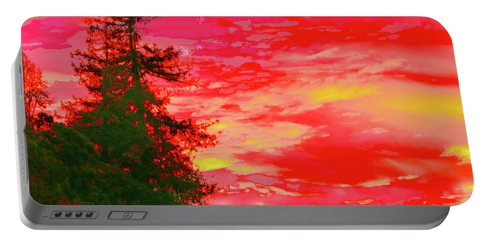Sunrise Portable Battery Charger featuring the photograph Fall Sunrise by Stephen Edwards