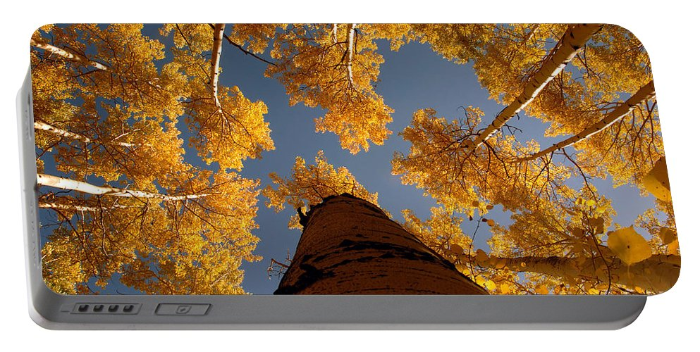 Fall Portable Battery Charger featuring the photograph Falling Sky by David Lee Thompson