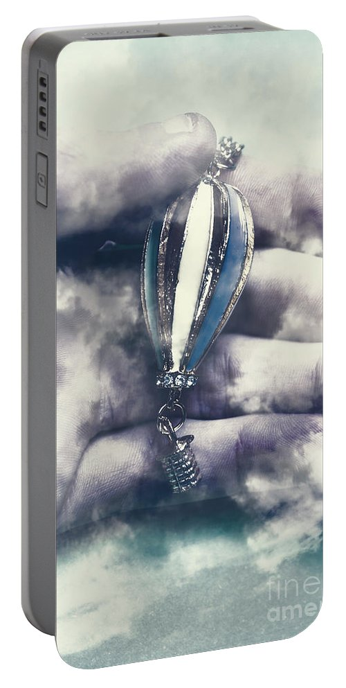 Balloon Portable Battery Charger featuring the photograph Fantasy Flights by Jorgo Photography - Wall Art Gallery