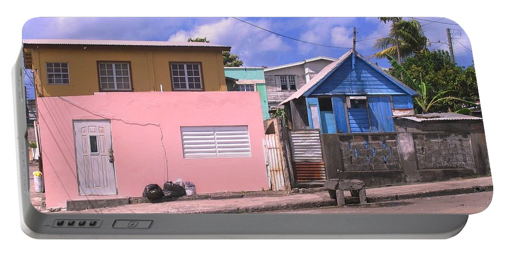 Basseterre Portable Battery Charger featuring the photograph Far From Dull by Ian MacDonald
