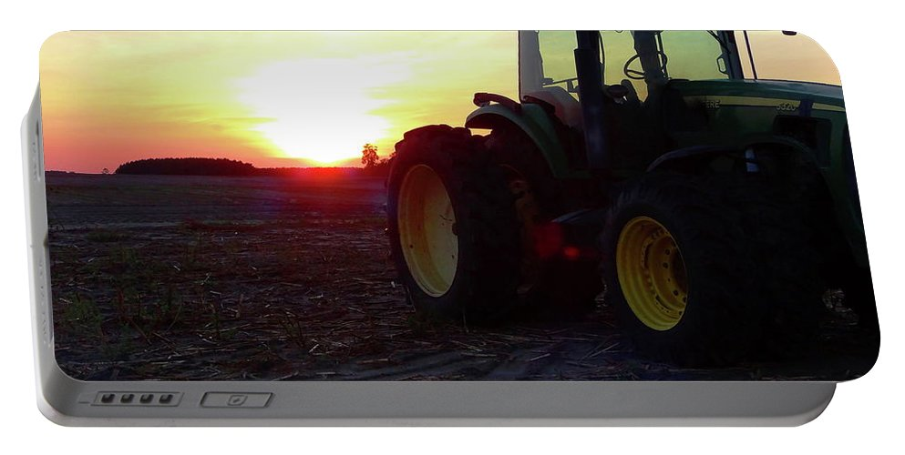 Farming Portable Battery Charger featuring the photograph Farmers Delight by Gina Welch