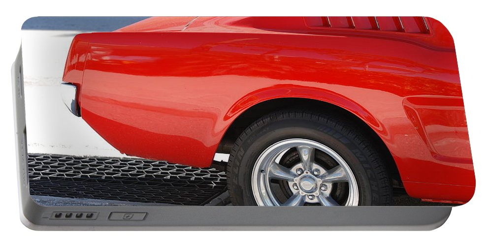 Ford Portable Battery Charger featuring the photograph Fastback Mustang by Rob Hans