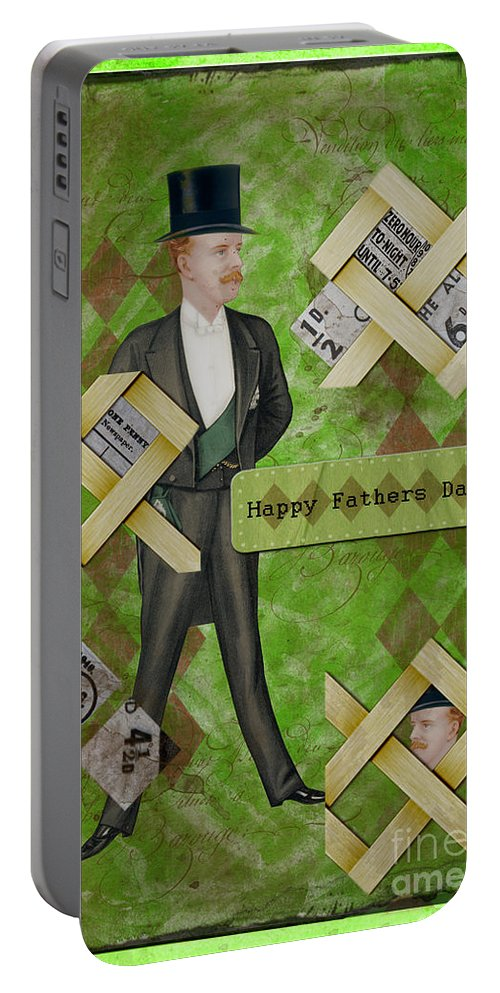 Fathers Portable Battery Charger featuring the photograph Fathers Day by Gillian Singleton