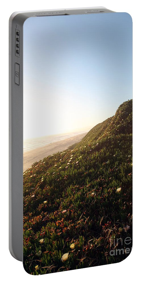 california Coast Portable Battery Charger featuring the photograph Feels Like Home by Amanda Barcon