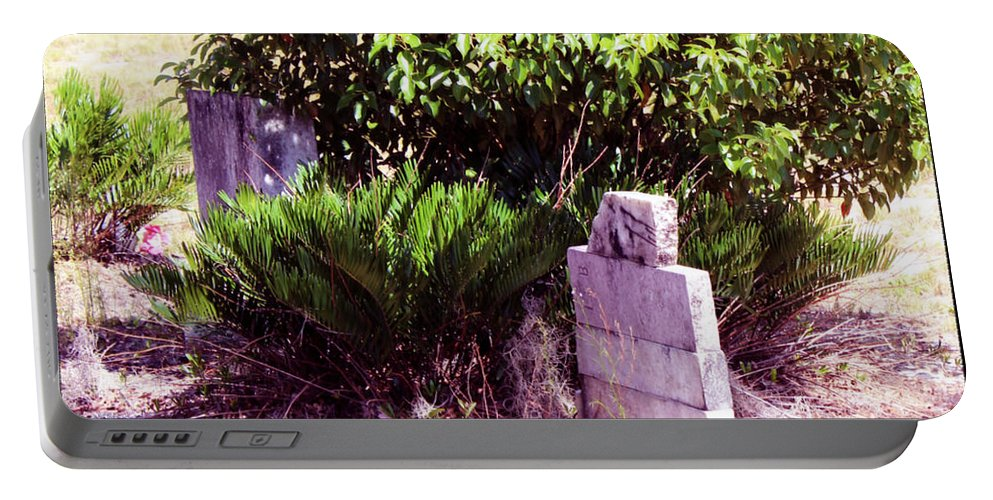 Shannon Portable Battery Charger featuring the photograph Fern Of Sleep by Shannon Sears
