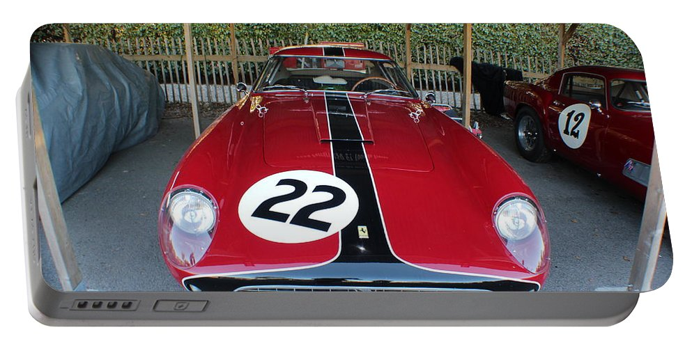 Ferrari Portable Battery Charger featuring the photograph Ferrari 250 Gt Tour De France by Robert Phelan