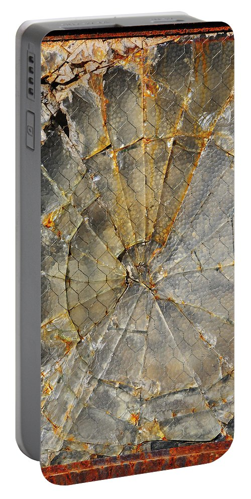 Fibonaccis Muse Portable Battery Charger featuring the photograph Fibonaccis Muse by Skip Hunt