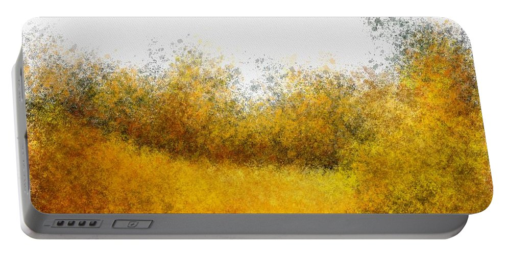 Field Portable Battery Charger featuring the painting Field by Bruce Young