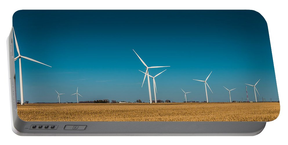 Field Portable Battery Charger featuring the photograph Fields Of Energy by Mike Cox