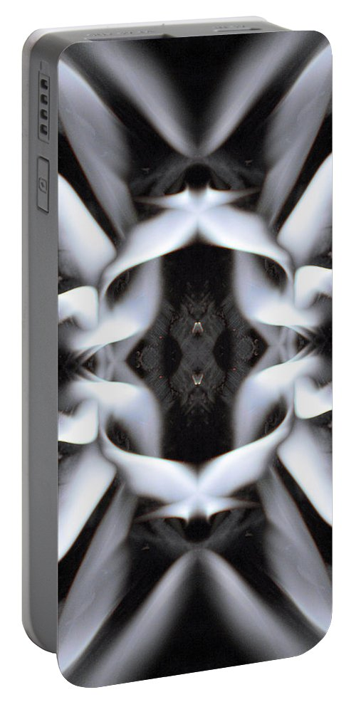Image Tags Portable Battery Charger featuring the digital art Fierce Flake 2795 by Alex W McDonell