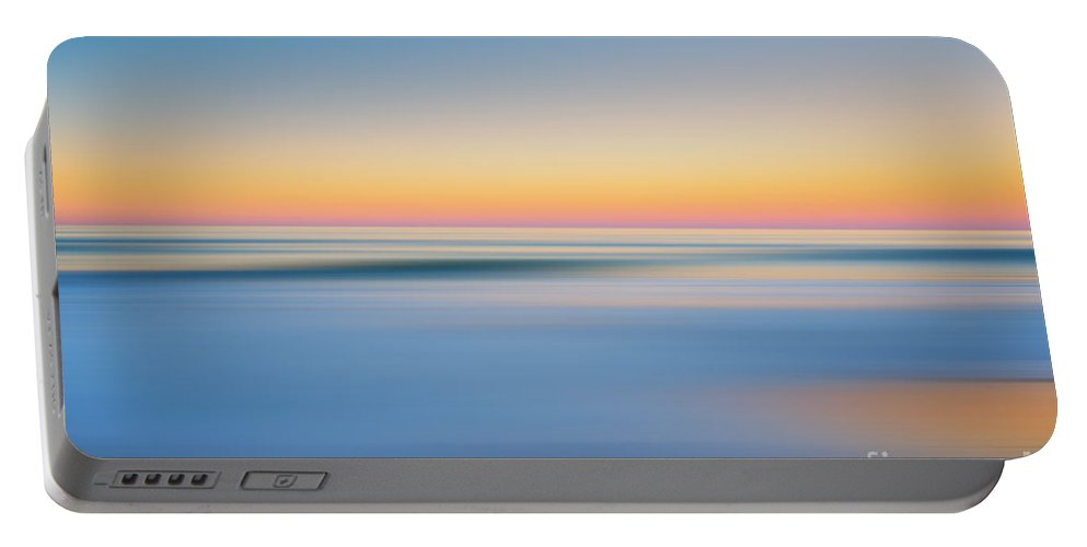 Nags Heah Portable Battery Charger featuring the photograph Finding Bliss Abstract Seascape by Michael Ver Sprill