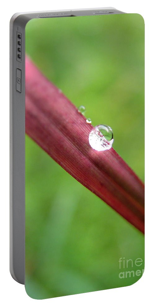 Water Portable Battery Charger featuring the photograph Fire And Water by Amanda Barcon
