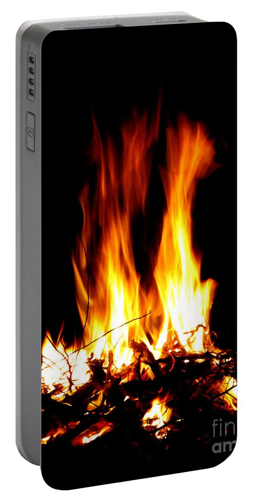 Fire Portable Battery Charger featuring the photograph Fire Dragon by September Stone